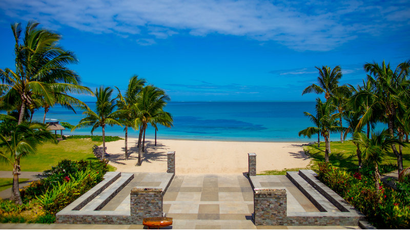 InterContinental Fiji Golf Resort & Spa-View of the Beach from Reception<br/>Image from Leonardo