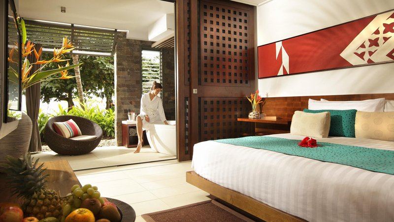 InterContinental Fiji Golf Resort & Spa-King Suite Bedroom<br/>Image from Leonardo