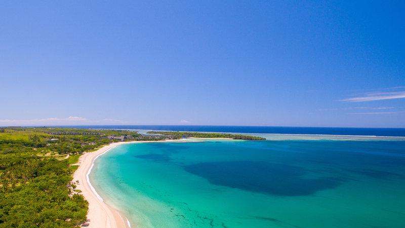 InterContinental Fiji Golf Resort & Spa-Aerial View of the Resort on Natadola Bay<br/>Image from Leonardo