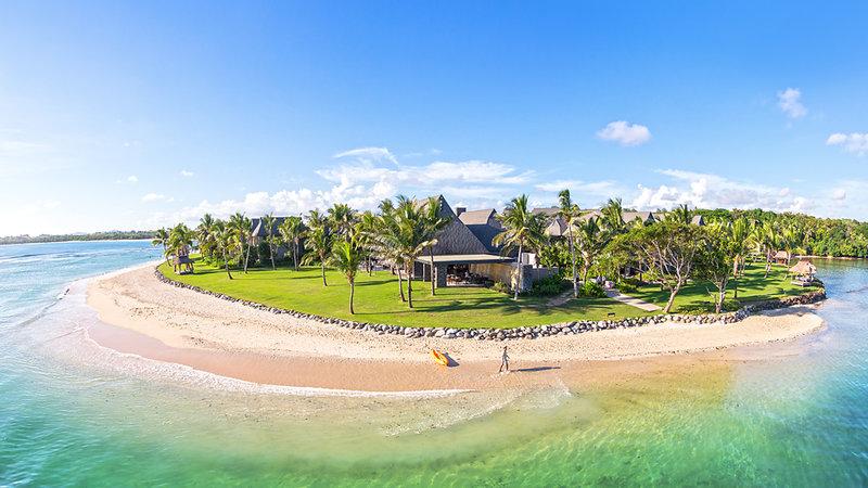 InterContinental Fiji Golf Resort & Spa-Natadola Bay Aerial Navo<br/>Image from Leonardo
