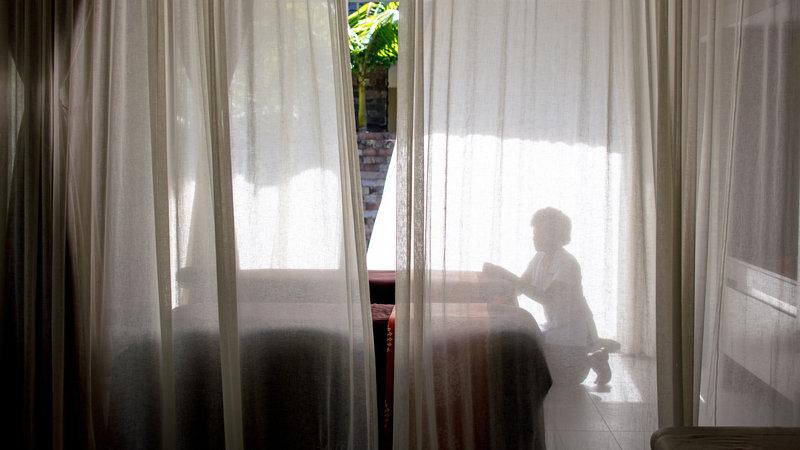 InterContinental Fiji Golf Resort & Spa-Spa therapist preparing a couple's treatment room<br/>Image from Leonardo