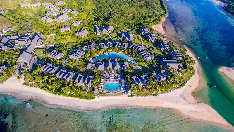 InterContinental Fiji Golf Resort & Spa-Aerial overview of the InterContinental Fiji Golf Resort & Spa<br/>Image from Leonardo