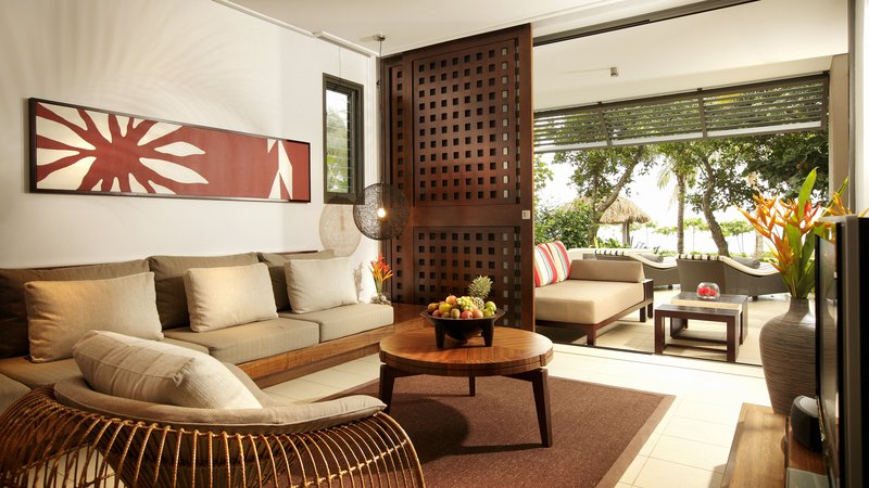 InterContinental Fiji Golf Resort & Spa-King Bedroom Suite - Living Room<br/>Image from Leonardo
