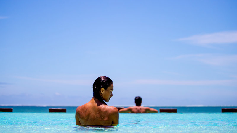 InterContinental Fiji Golf Resort & Spa-Relaxing at the adults infinity pool<br/>Image from Leonardo