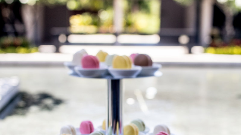 InterContinental Fiji Golf Resort & Spa-Assorted Macaroons at the WaterCourts Pre-Function Area<br/>Image from Leonardo
