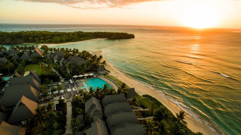 InterContinental Fiji Golf Resort & Spa-Resort Exterior at Sunset<br/>Image from Leonardo