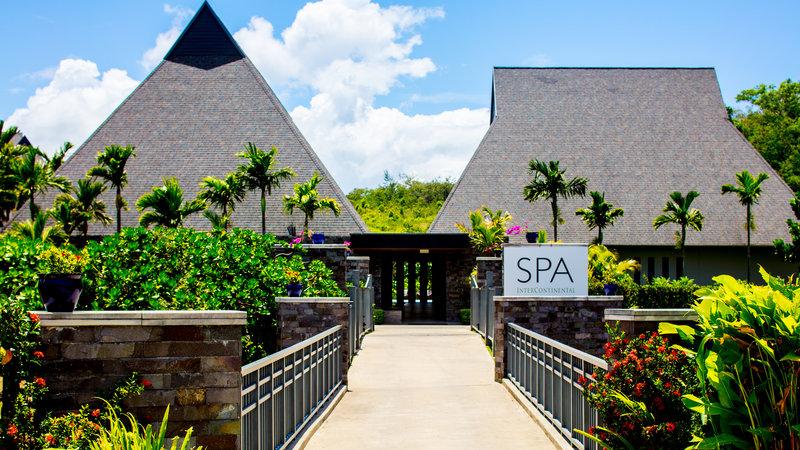 InterContinental Fiji Golf Resort & Spa-The Spa InterContinental Entrance<br/>Image from Leonardo