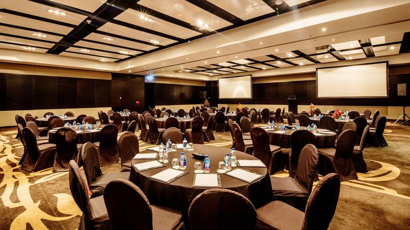 InterContinental Fiji Golf Resort & Spa-Natadola Ballroom set up in cabaret style<br/>Image from Leonardo