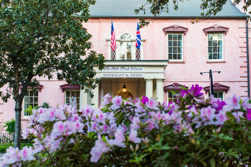 Holiday Inn Savannah Historic District-The Olde Pink House Restaurant & Tavern is only a stroll away.<br/>Image from Leonardo