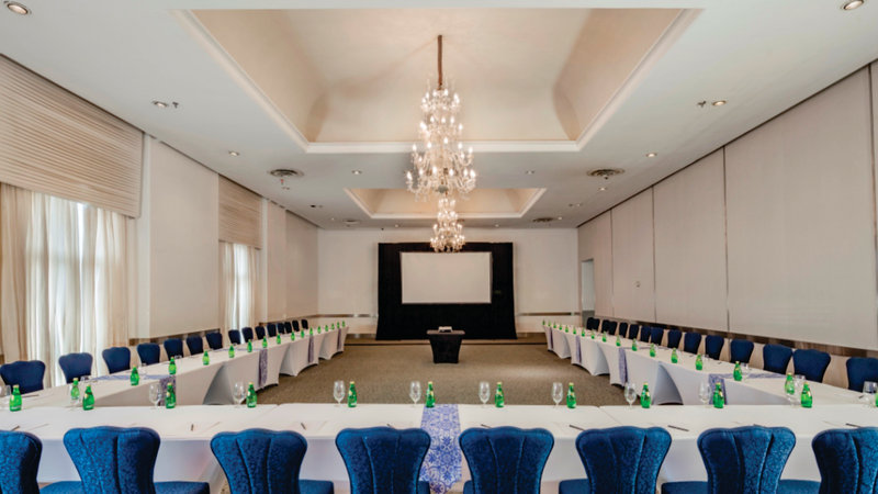 Holiday Inn Express Puebla-Conference Room<br/>Image from Leonardo