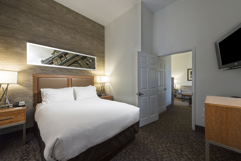 Holiday Inn Savannah Historic District-Settle in to your suite with separate bedroom <br/>Image from Leonardo