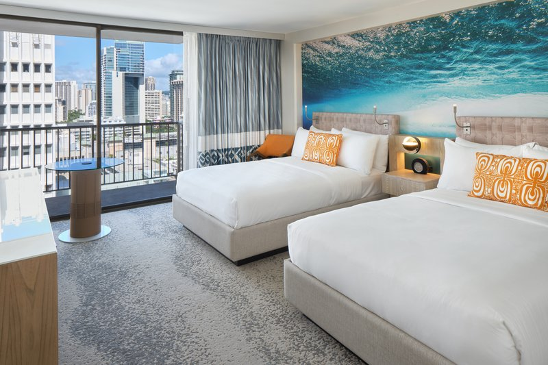 Waikiki Beachcomber By Outrigger - Accessible Partial Oceanview Double <br/>Image from Leonardo