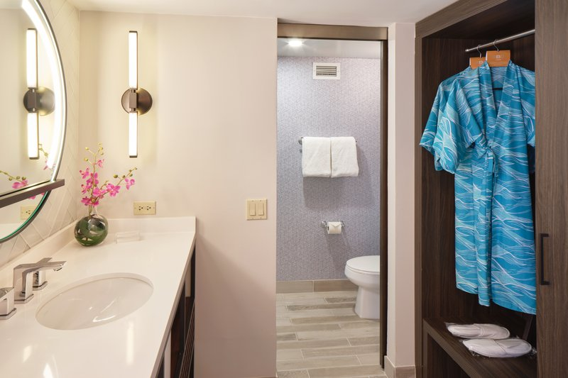Waikiki Beachcomber By Outrigger - Room Amenities Vanity <br/>Image from Leonardo