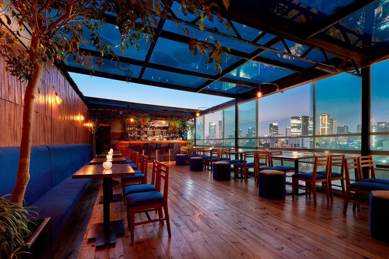 Four Points by Sheraton Mexico City, Colonia Roma-Rooftop Bar<br/>Image from Leonardo