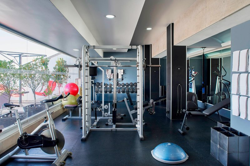 Four Points by Sheraton Mexico City, Colonia Roma-Fitness Center<br/>Image from Leonardo