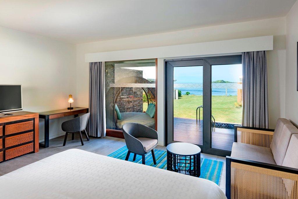Musket Cove Island Resort-King Tokoriki Ocean View Retreat Guest Room<br/>Image from Leonardo