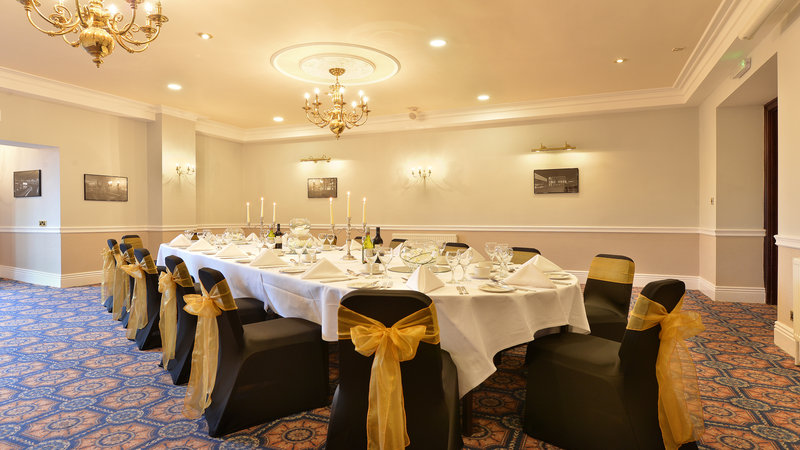 Holiday Inn Sheffield-Private dining facilities available at the hotel<br/>Image from Leonardo