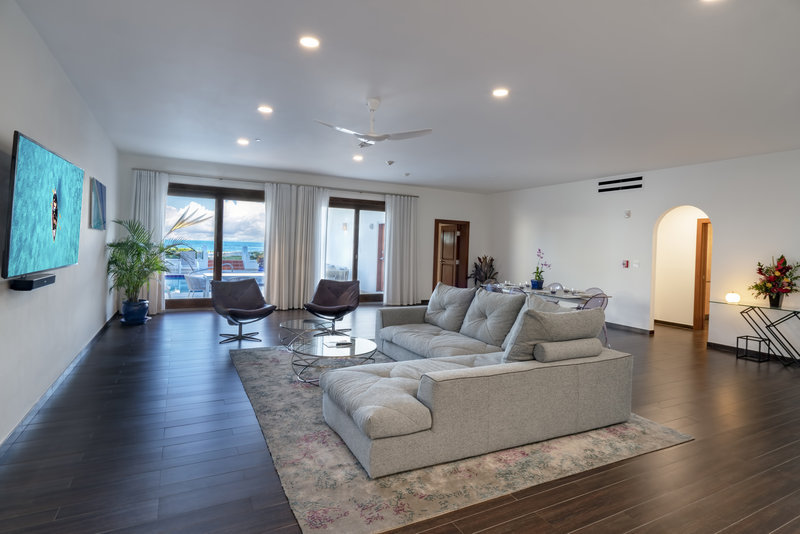 CuisinArt Golf Resort & Spa.-CuisinArt Three BR Beachfront Villa  Living Room<br/>Image from Leonardo