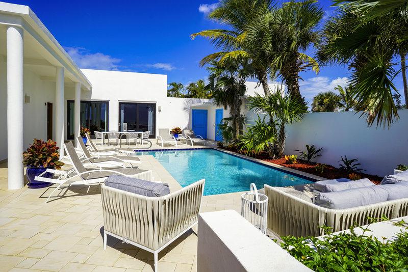 CuisinArt Golf Resort & Spa.-CuisinArt Three Bedroom Beachfront Villa Pool Patio<br/>Image from Leonardo