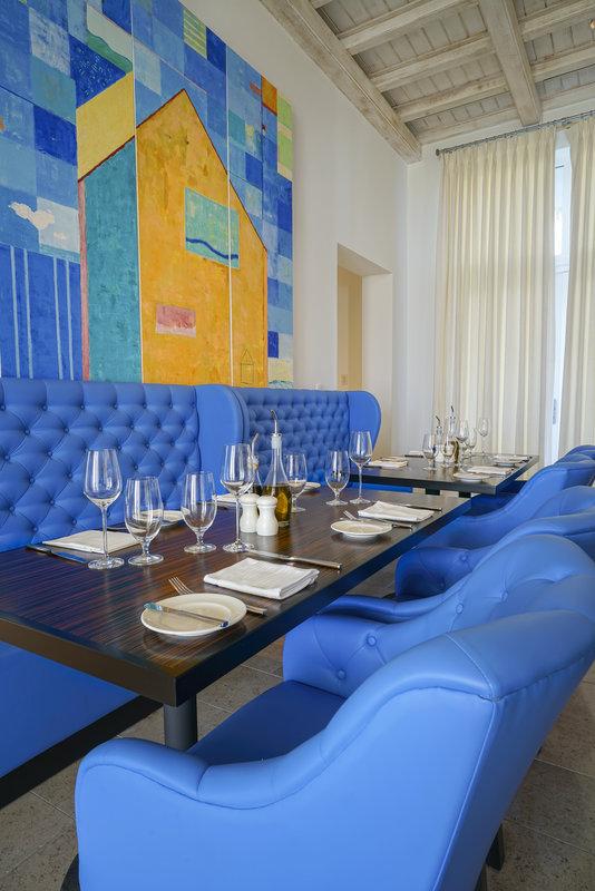 CuisinArt Golf Resort & Spa.-Cuisin Art Santorini Restaurant Interior Detail<br/>Image from Leonardo
