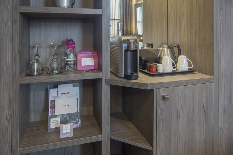 Holiday Inn Sheffield-Coffee machines in all our Junior Suites andSuites<br/>Image from Leonardo