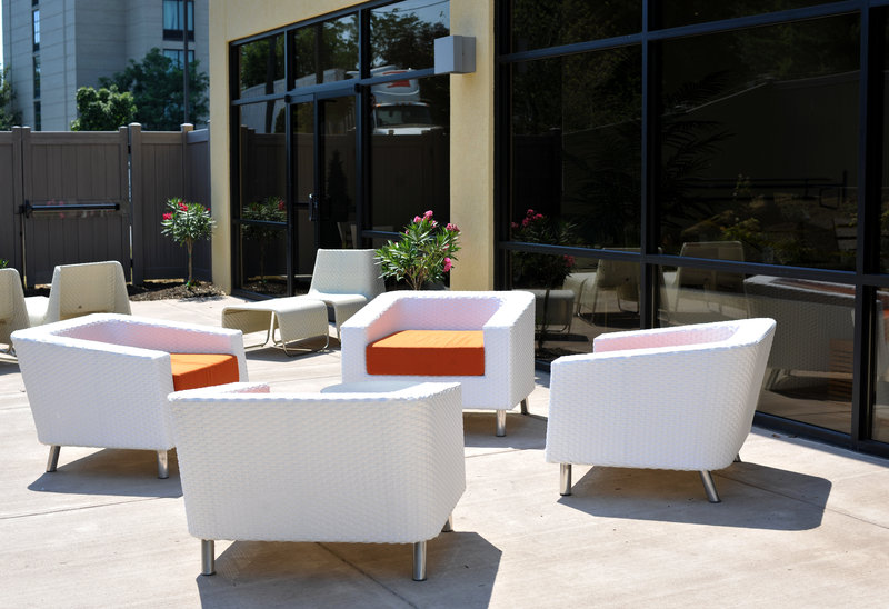 Holiday Inn Hotel & Suites Charleston West-Guest Patio<br/>Image from Leonardo