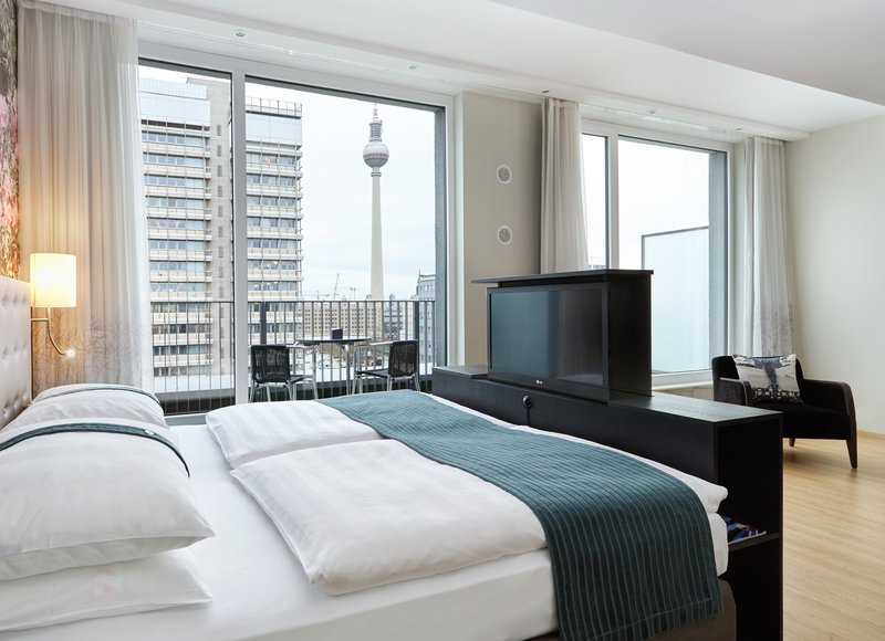 Holiday Inn Berlin Centre Alexanderplatz-Enjoy an ouside balcony with views of the famous Berlin TV Tower<br/>Image from Leonardo