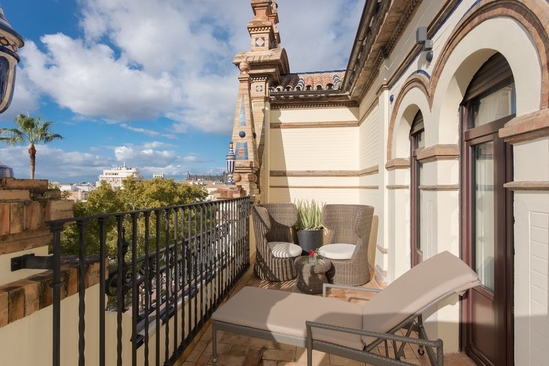 Hotel Alfonso XIII; a Luxury Collection Hotel Seville-Grand Deluxe With Terrace Guest Room<br/>Image from Leonardo