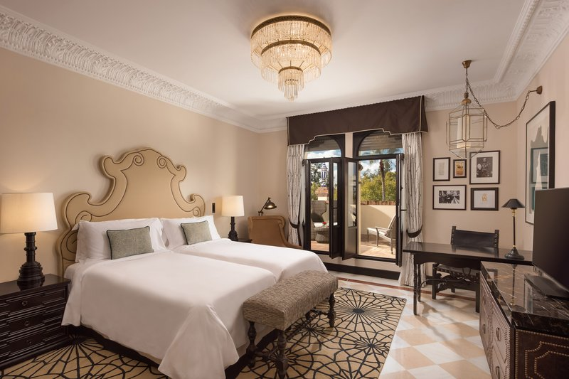 Hotel Alfonso XIII; a Luxury Collection Hotel Seville-Twin/Twin Grand Deluxe With Terrace Guest Room<br/>Image from Leonardo
