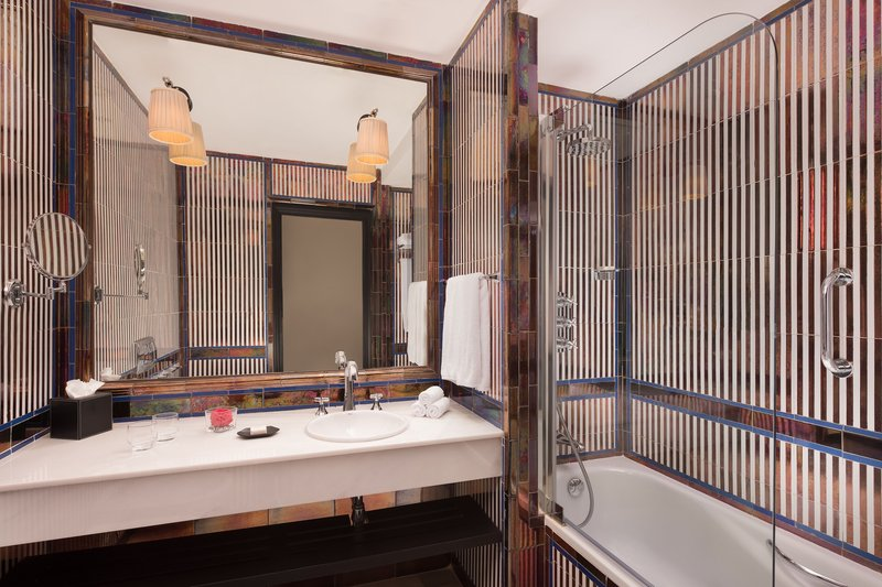 Hotel Alfonso XIII; a Luxury Collection Hotel Seville-Grand Deluxe With Terrace Guest Bathroom<br/>Image from Leonardo