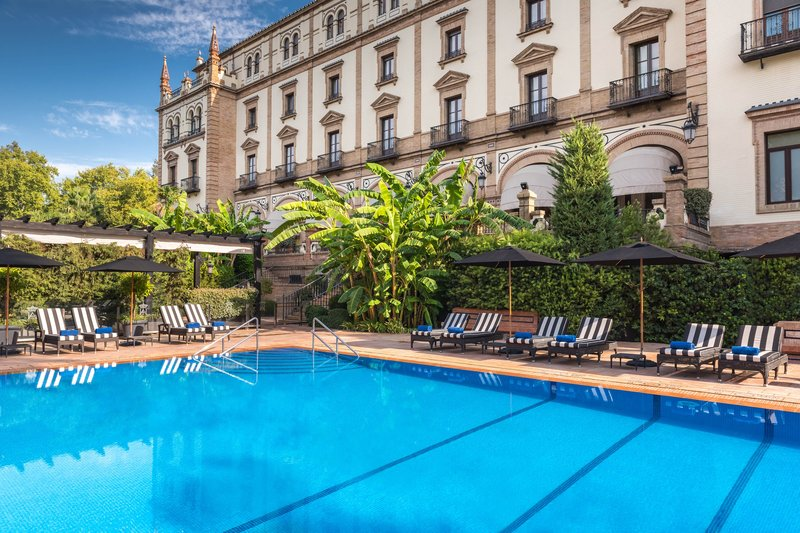 Hotel Alfonso XIII; a Luxury Collection Hotel Seville-Swimming Pool<br/>Image from Leonardo