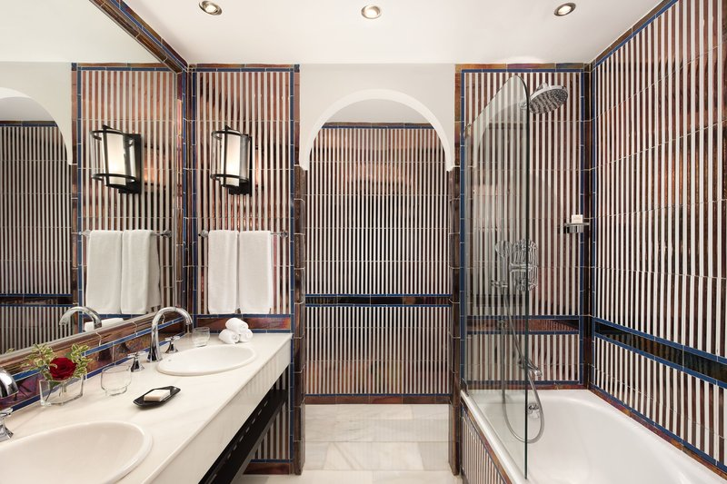 Hotel Alfonso XIII; a Luxury Collection Hotel Seville-Premium Suite Bathroom<br/>Image from Leonardo