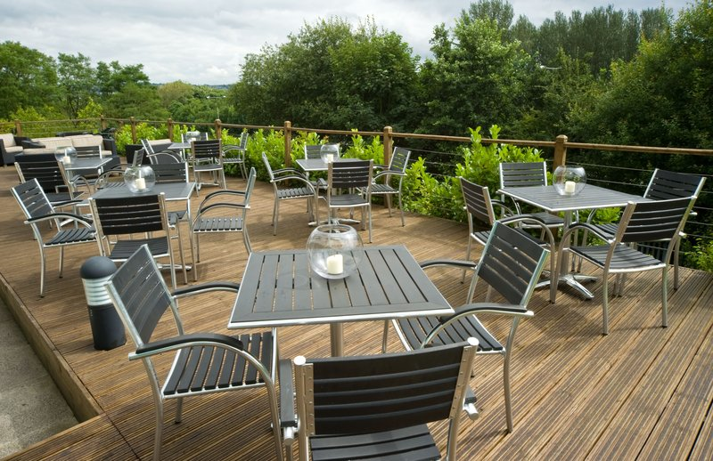 Holiday Inn Express Burnley M65, Jct.10-Our decking area is perfect for those lazy summer days<br/>Image from Leonardo