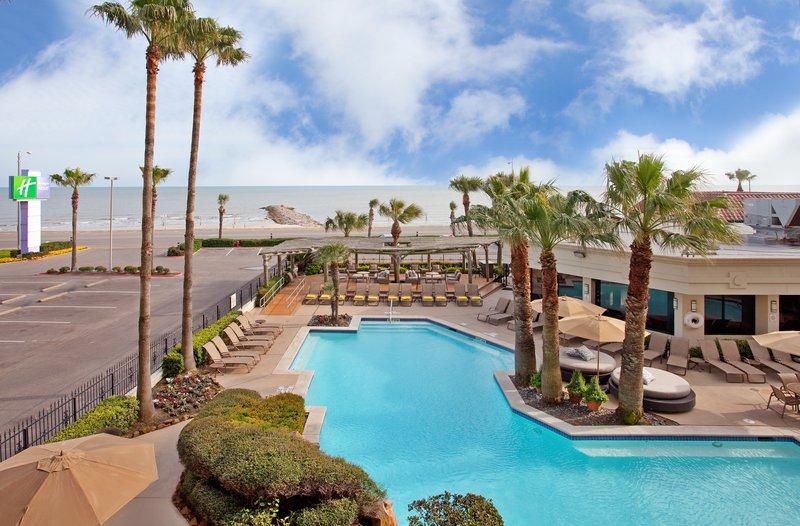 Holiday Inn Resort Galveston-On The Beach-View from Hotel<br/>Image from Leonardo