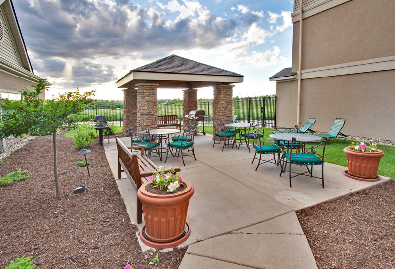 Staybridge Suites Davenport-Guest Patio<br/>Image from Leonardo