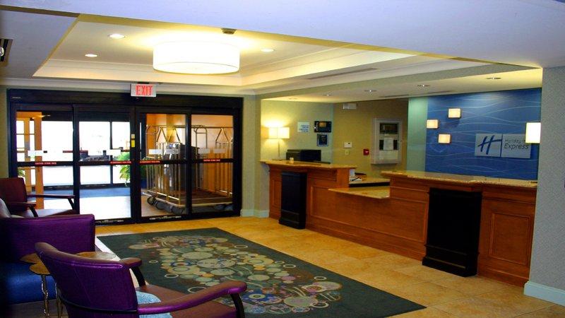 Holiday Inn Express Bluffton-Front Desk<br/>Image from Leonardo