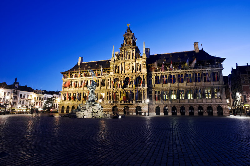 Holiday Inn Express Antwerp City - North-Antwerp city hall<br/>Image from Leonardo