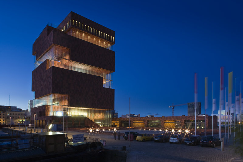 Holiday Inn Express Antwerp City - North-The new MAS museum<br/>Image from Leonardo