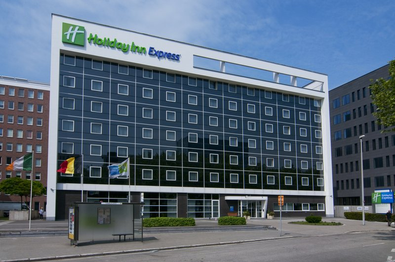 Holiday Inn Express Antwerp City - North-The Holiday Inn Express Antwerp's Exterior at day time<br/>Image from Leonardo