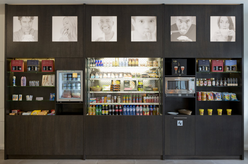 Holiday Inn Express Antwerp City - North-Enjoy some bits & bites from our Grab&Green Self-service Shop<br/>Image from Leonardo