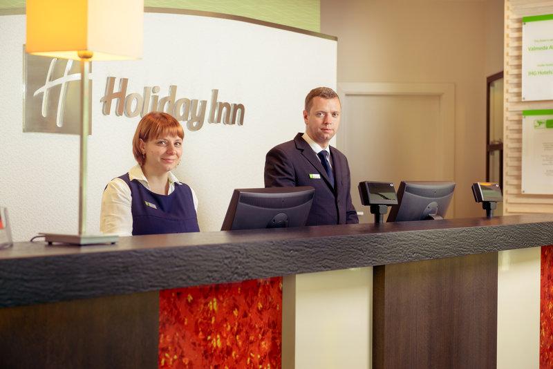 Holiday Inn Vilnius-A warm welcome at Holiday Inn Vilnius<br/>Image from Leonardo