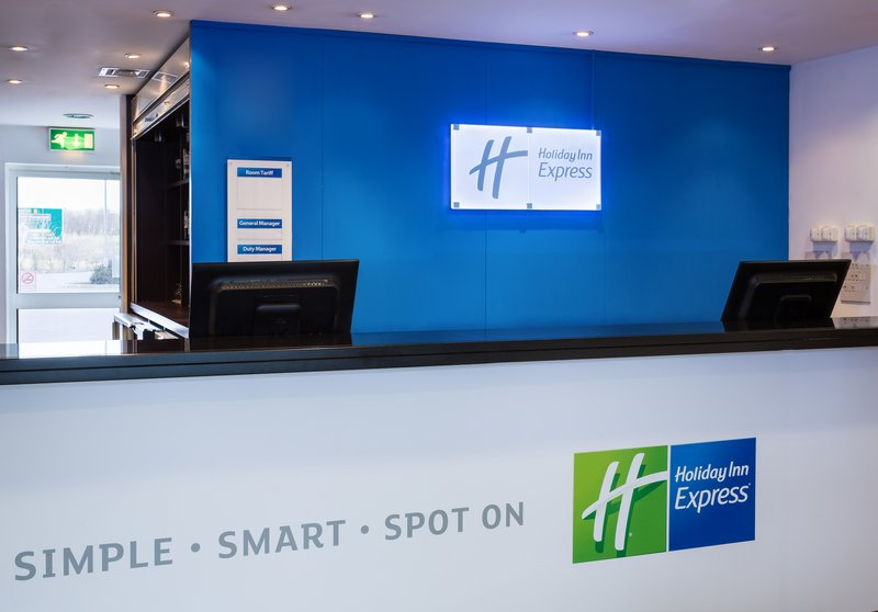 Holiday Inn Express Braintree-Front Desk<br/>Image from Leonardo