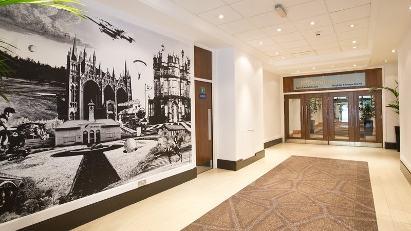 Holiday Inn Peterborough West-Hotel Lobby at the Holiday Inn Peterborough West<br/>Image from Leonardo