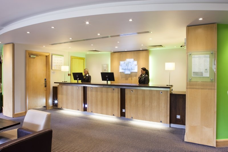 Holiday Inn Rochester - Chatham-The Front Desk where expert and friendly staff are ready to help.<br/>Image from Leonardo