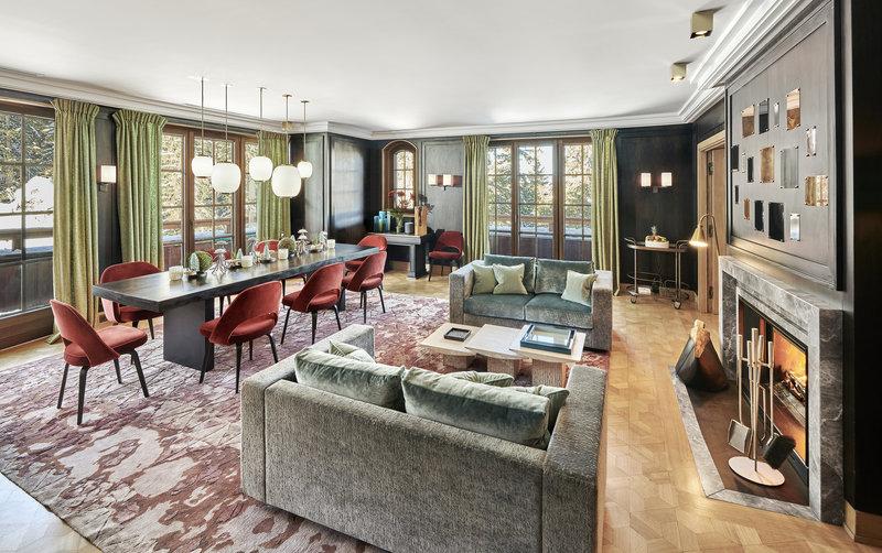Mercure Courchevel Hotel-L'Alpensia Living Room<br/>Image from Leonardo