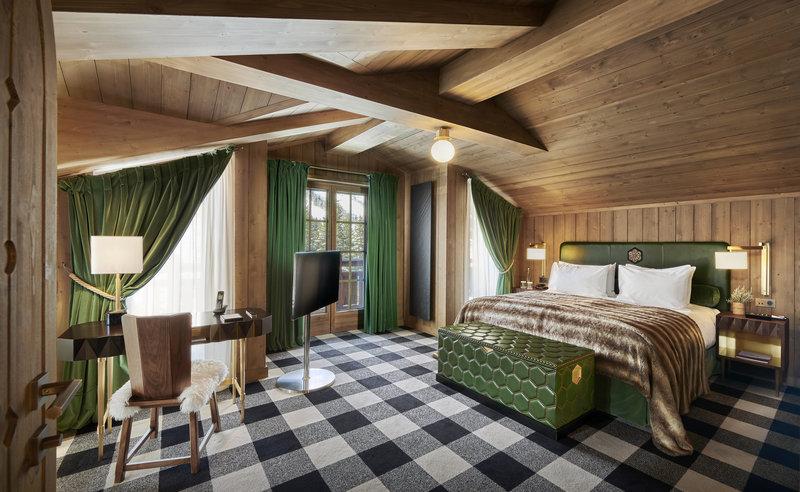 Mercure Courchevel Hotel-Chalet L'Amarante Room<br/>Image from Leonardo