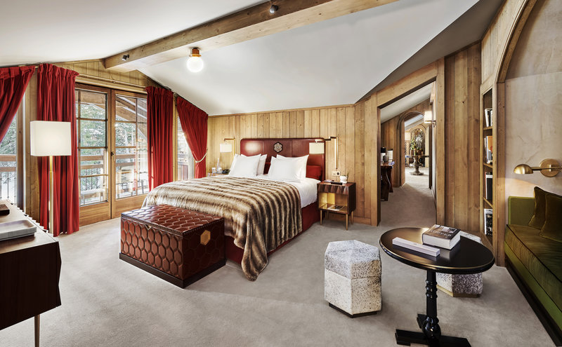 Mercure Courchevel Hotel-APGPenthouse Master Room JMS<br/>Image from Leonardo