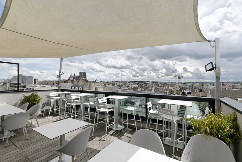 Holiday Inn Reims Centre-View from the terrasse<br/>Image from Leonardo