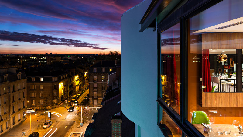 Holiday Inn Reims Centre-View over the city from the 7th floor<br/>Image from Leonardo