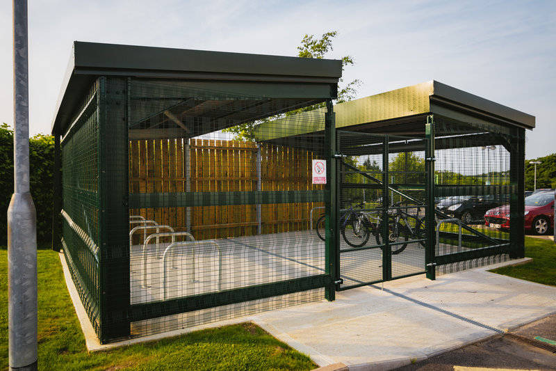 Holiday Inn Winchester-Park your bicycles here at Holiday Inn Winchester<br/>Image from Leonardo